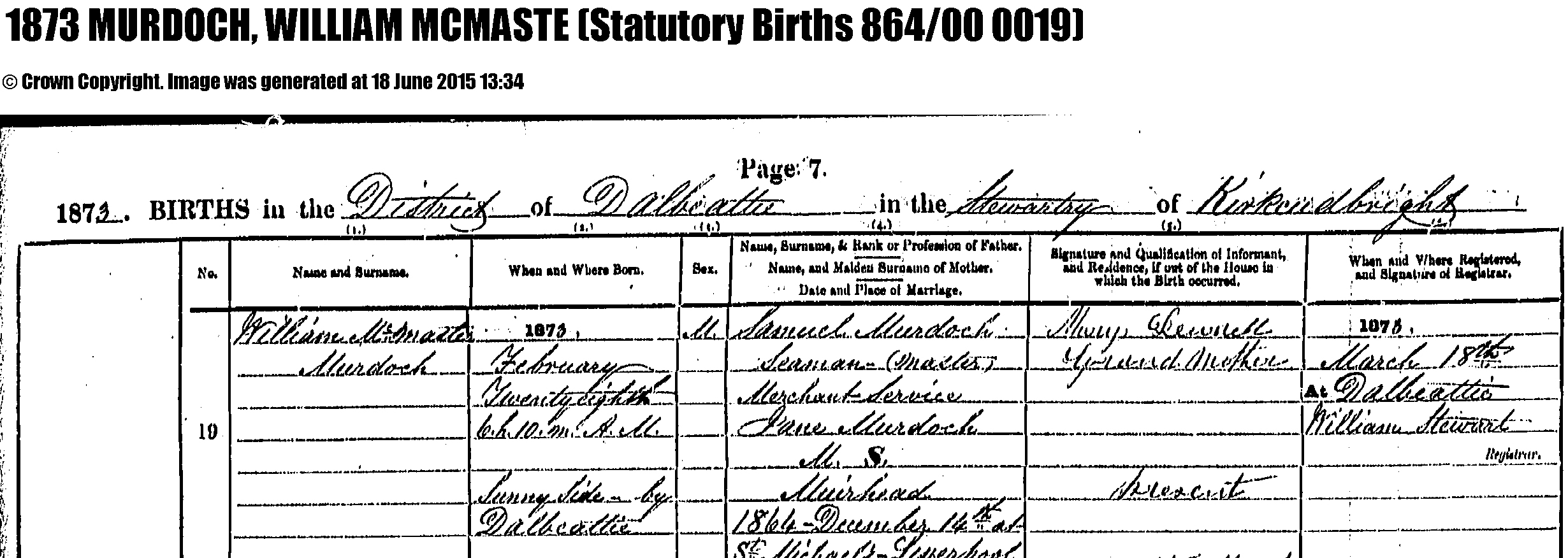 Biographie de William Murdoch - Page 5 Murdoch_birth_certificate